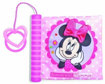 Disney Kids Preferred Disney Baby Soft Book with Spine, Minnie Mouse