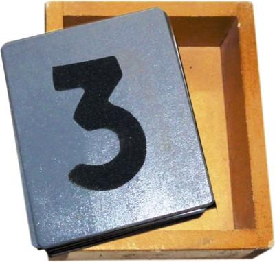 Kinder Creative Sand Paper Letter - Numbers