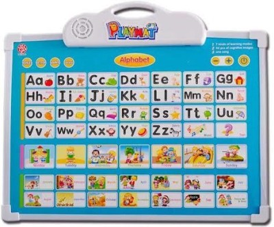 Mayatra's Alphabet Learning Electronic Board With One Doodle Pen For Kid,s