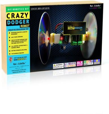Be Cre8v Crazy Dodger DIY Robotics Kit
