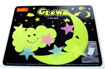 Buddyz Set of 2 - Buddyz Glowz Smiling Cloud & Smiling Moon for Kids