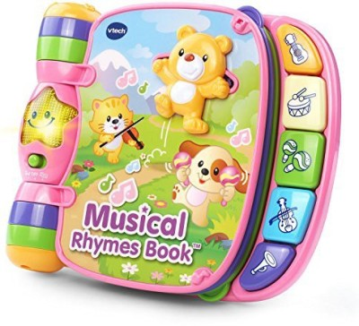 VTech Musical Rhymes Book - Pink - Online Exclusive