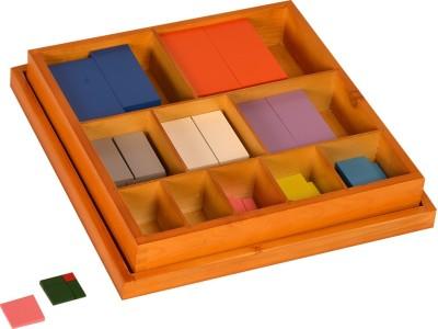 Kidken Montessori Colour Counting Bars