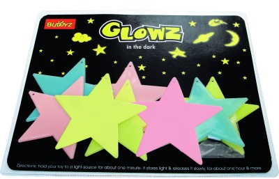 Buddyz Set of 2 - Glowz Big Stars for Kids