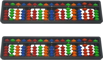 Djuize Abacus Multicolor 17 Rod - Set of 2