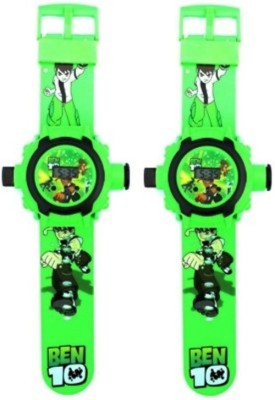Turban Toys Combo of Projector Digital Ben10 Watch For Kids