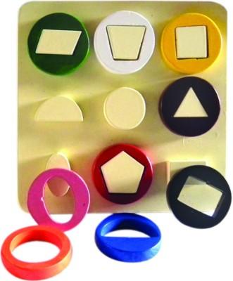 Kinder Creative Geometrical Shapes Cavity Board