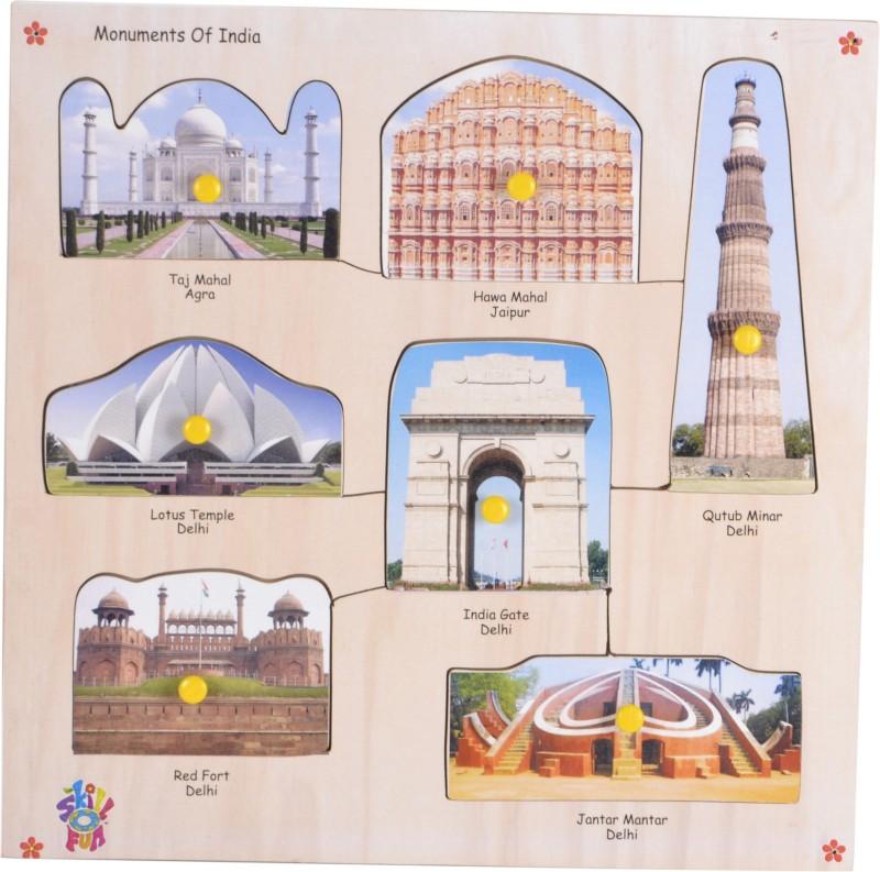Skillofun Monuments of India
