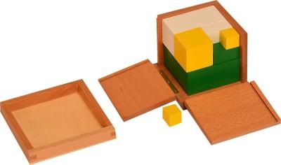 Kidken Montessori Power of 2 cube