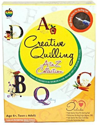 Applefun Creative Paper Quilling- A to Z Collection