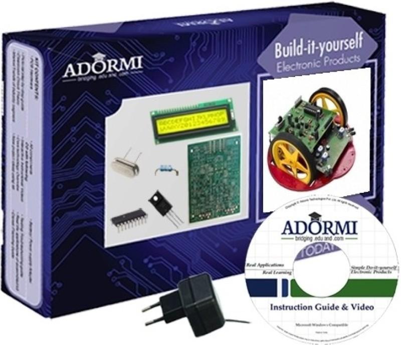 Adormi Programmable Obstacle Avoiding Robot(Multicolor)