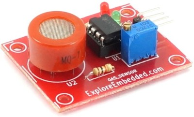Explore Embedded Carbon Monoxide Gas Sensor (MQ7) board