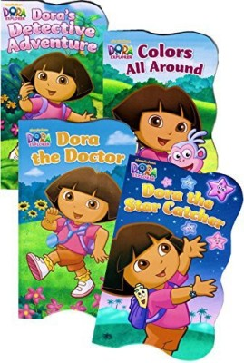 Nickelodeon Dora the Explorer Board Books - Set of Four