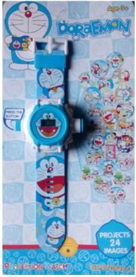 ToysBuggy Doraemon 24 Image Projector Watch
