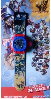 ToysBuggy Transformers 24 Images Projector Watch