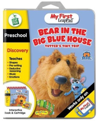 LeapFrog My First LeapPad Educational Book: Bear in the Big Blue House - Tutter's Tiny Trip