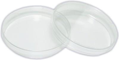 Saicor Glass Reusable Petri Dish(78 mm Pack of 2)
