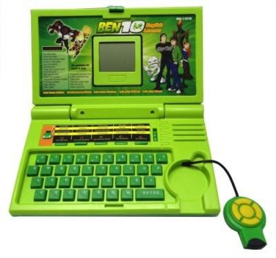 Foocat Ben10 English Learner Kids Laptop with 20 Activities