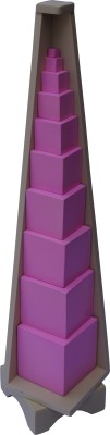 ABC Kids World Pink Tower with Stand