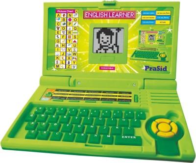 Prasid English Learner Computer Toy Educational Laptop Green