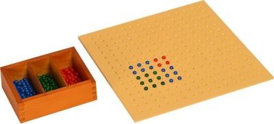 Kidken Montessori Square Root Board with bead box