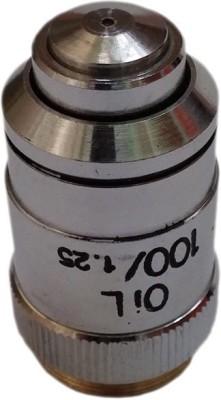 Labpro Microscope Objective 100x Oil Heavy Brass Metal