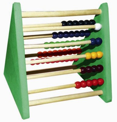 Kinder Creative Triangle Abacus (1 - 55) with Wooden Rods