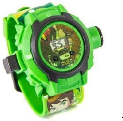 Homeshopeez Ben 10 Projector Watch with 36 Images