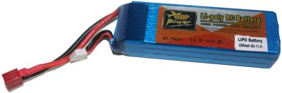 Adraxx Li po Battery (Planes) 11.1v/2200 MAh/25C(Multicolor)
