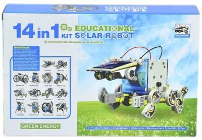 Littlegrin 14 in 1 Educational Solar Energy Robot Kit For Science