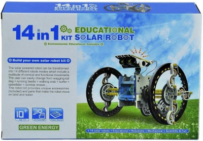 ShopMeFast 14 In 1 Educational Solar Robot