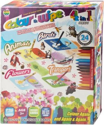 Applefun Colour & Wipe 4 in 1 Series 1