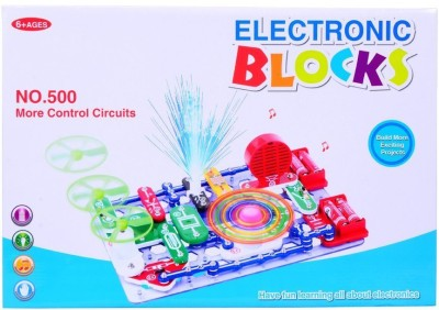 Planet of Toys Electronic Circuit Blocks - Create Exciting Projects (Large)