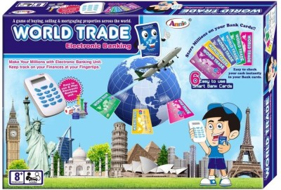 Annie E Bussiness With Credit Card Machine World Trade Monopoly