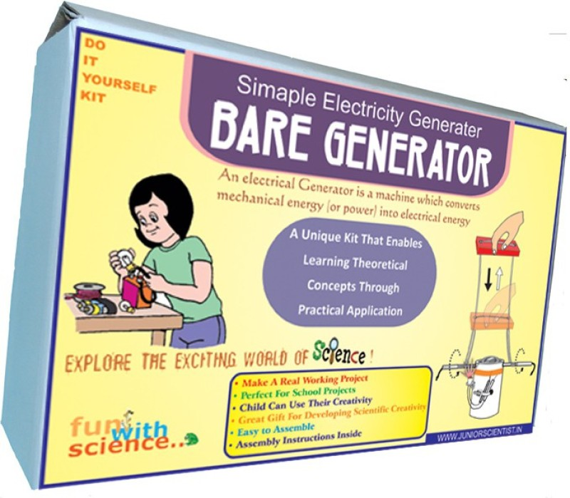 Junior Scientist Bare Generator(Multicolor)