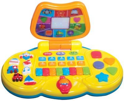 MeeMee Fun Learning Laptop(Yellow)