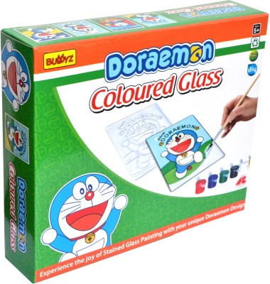 Buddyz Doraemon Do-it-Yourself Coloured Glass for Kids