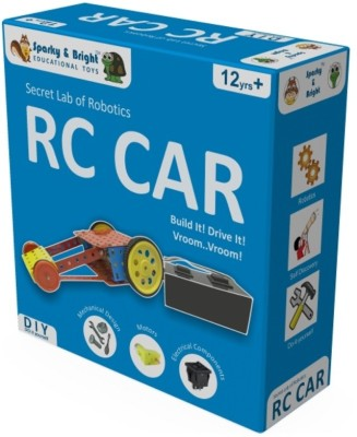 Sparky & Bright Secret Lab Of Robotics - RC Car