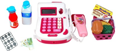 Planet of Toys Multifunctional Educational Electronic Cash Register (with calculator)
