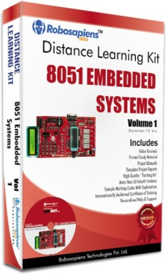 Robomart 8051 Embedded Systems complete Learning Kit