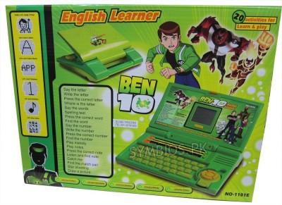 Shopaholic Ben - 10 English Learner Laptop For Kids