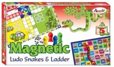 Annie Annie Magnetic Ludo Snakes & Ladder