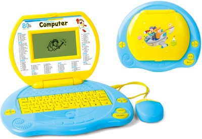 Toyhouse Educational Laptop with 80 functions, LED Screen, Mouse