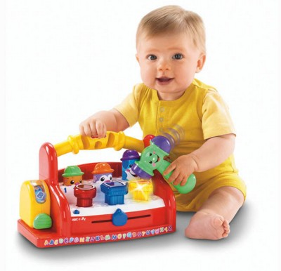Fisher-Price Laugh and Learn Learning Tool Bench
