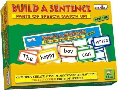 Creative Education Build A Sentence-Part Two
