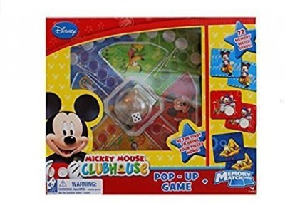 Disney MICKEY MOUSE CLUBHOUSE POP-UP GAME & MEMORY MAKER