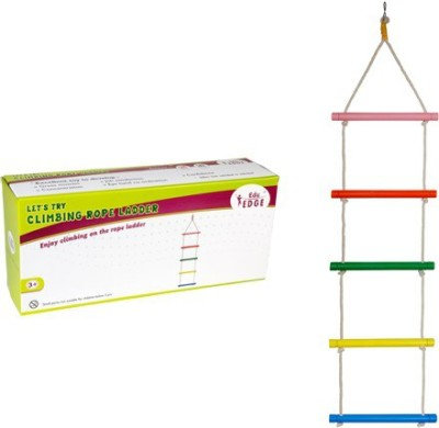 Eduedge Let's Try - Climbing Rope ladder(Multicolor)