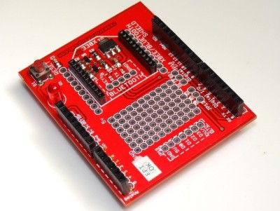 RDL Xbee Development Board with Voltage Regulator and Level Converter for Arduino