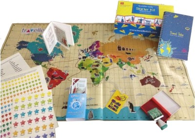 Traveller Kids Learn About the World box