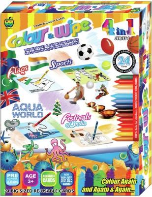 Applefun Colour & Wipe 4 in 1 Series 2